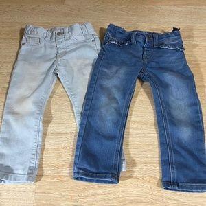 Bundle of 2 pairs of Cat & Jack Super Stretch Jean